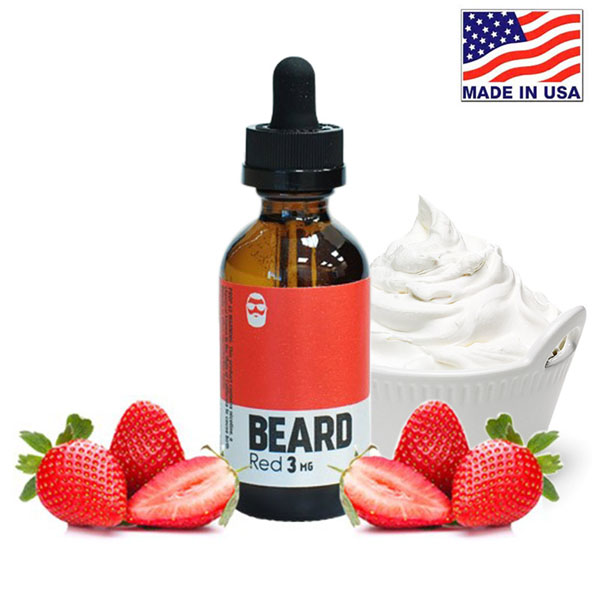 60ml Beard Vape Co Red