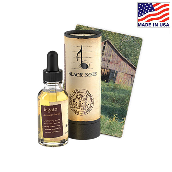 30ml Black Note Legato Naturally Extracted Tobacco