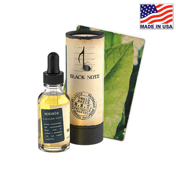 30ml Black Note Sonata Naturally Extracted Tobacco