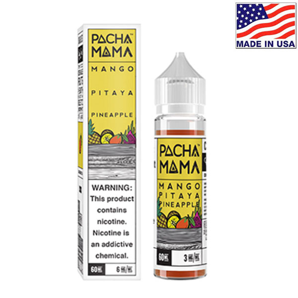 60ml Charlie's Chalk Dust Pacha Mama Mango Pitaya Pineapple