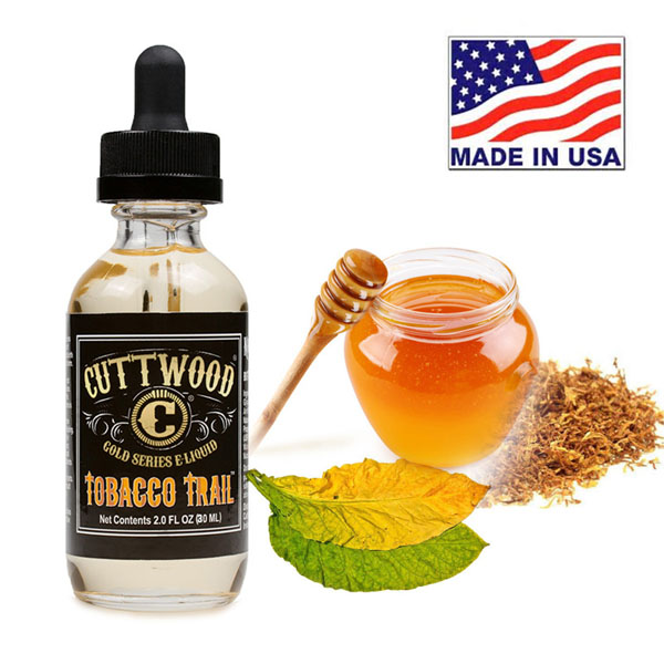 60ml Cuttwood Tobacco Trail