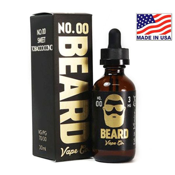 30ml Beard Vape Co No.00 Sweet Tobaccoccino