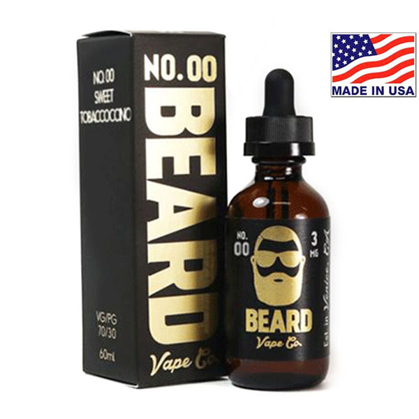 60ml Beard Vape Co No.00 Sweet Tobaccoccino
