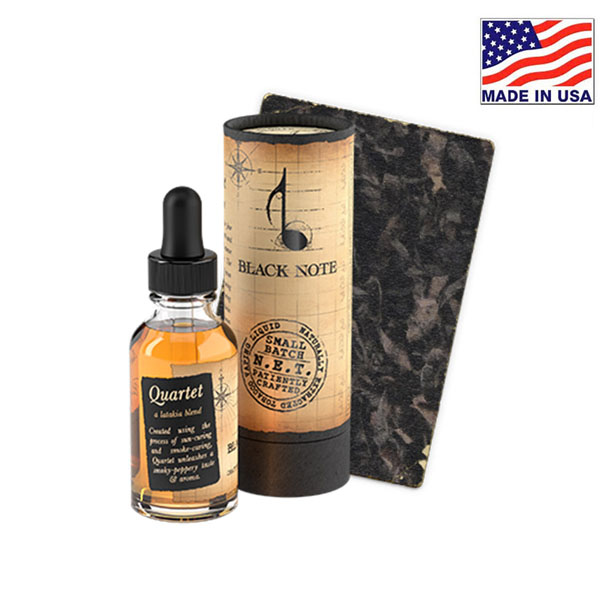 30ml Black Note Quartet Naturally Extracted Tobacco