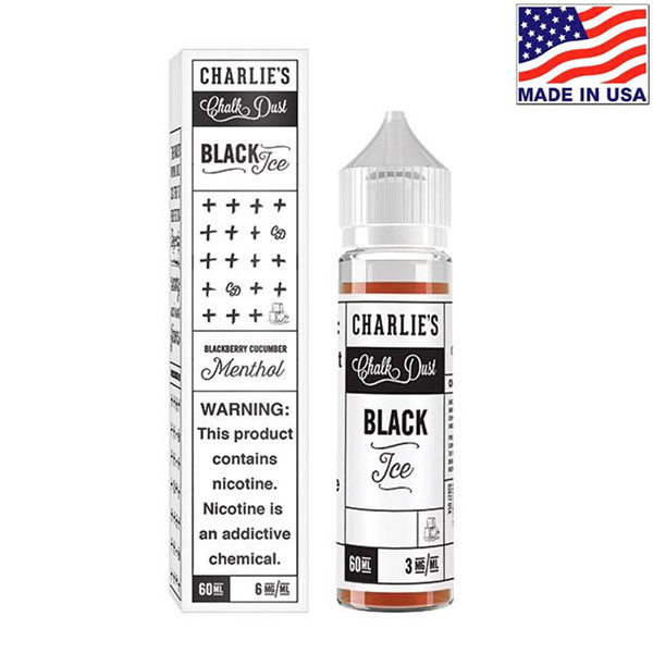 60ml Charlie's Chalk Dust Black Ice Menthol