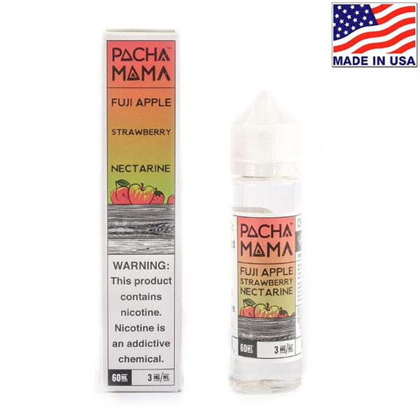 60ml Charlie's Chalk Dust Pacha Mama Fuji Apple Strawberry Nectarine