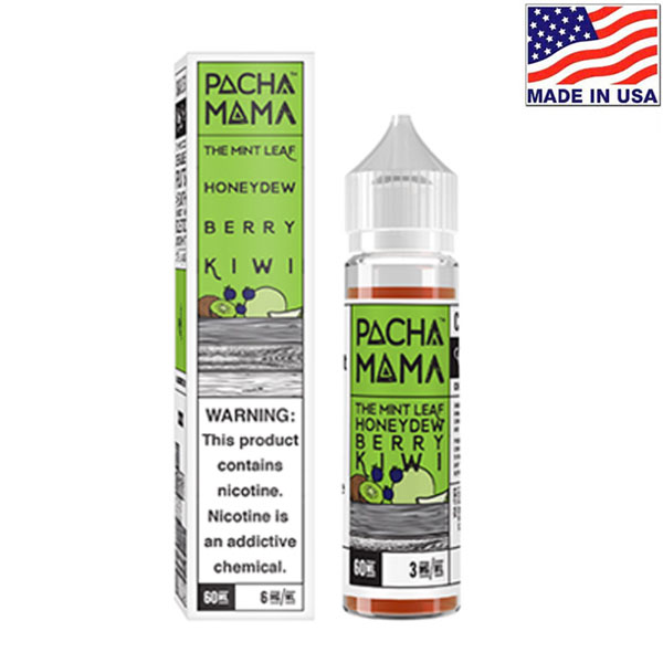 60ml Charlie's Chalk Dust Pacha Mama Mint Honeydew Berry Kiwi