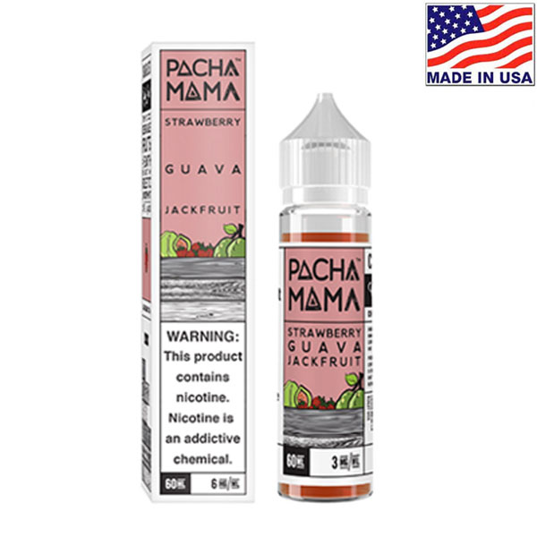 60ml Charlie's Chalk Dust Pacha Mama Strawberry Guava Jackfruit